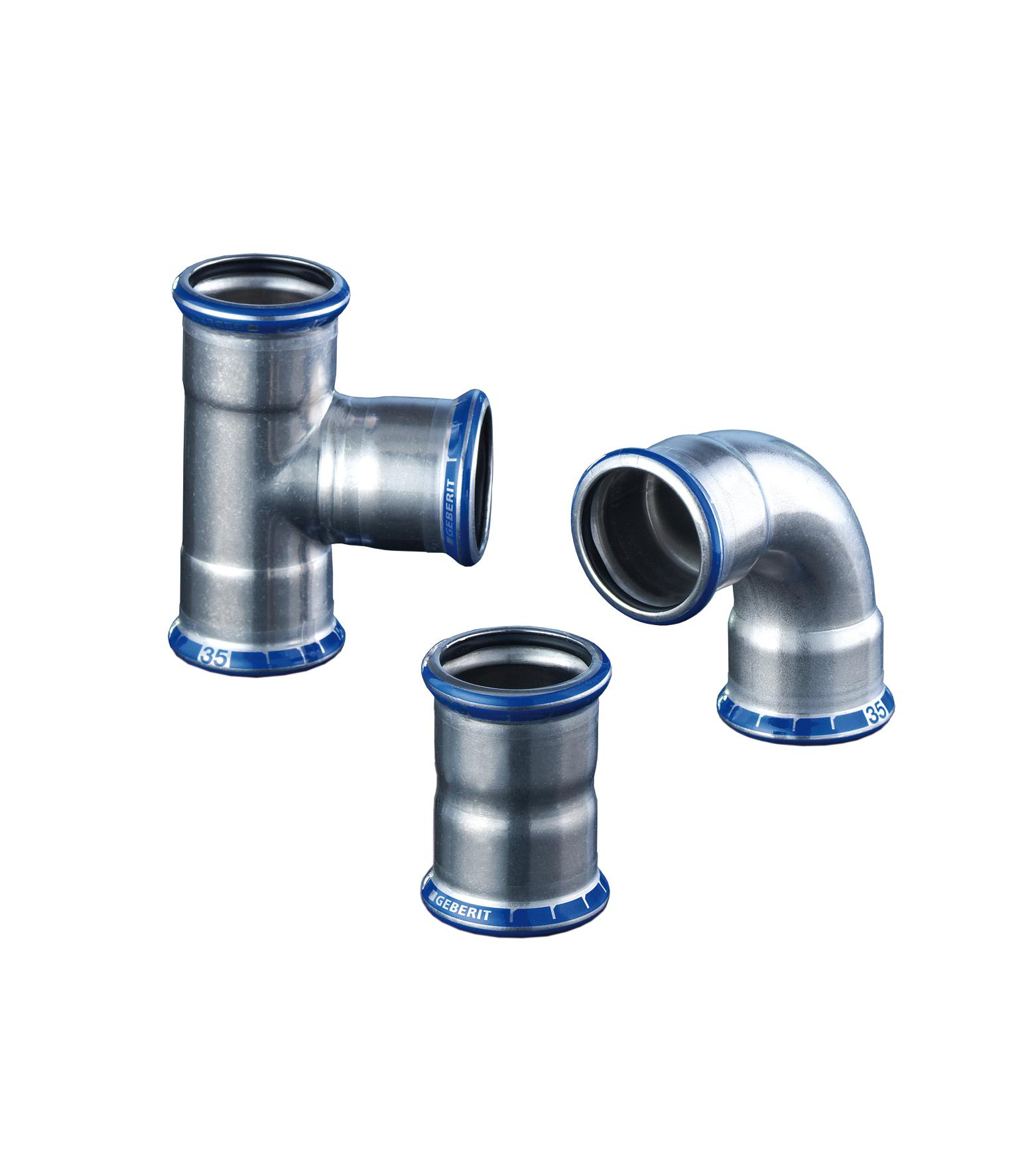 Mapress Edelstahl Fittings